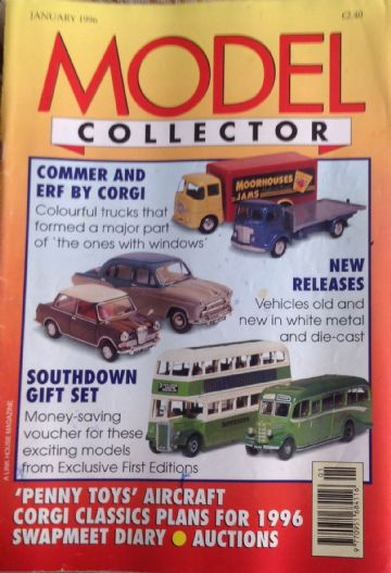 ORIGINAL MODEL COLLECTOR MAGAZINE January 1996